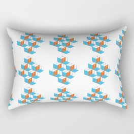 Musical repeating pattern No.3, Collection No.1 Rectangular Pillow
