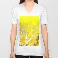 vertigo V-neck T-shirts featuring Vertigo by Christina Perez