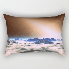 Let There Be Light : Exozodiacal Light on Alien Planet Rectangular Pillow