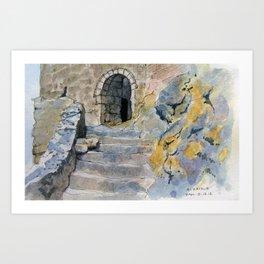 Queribus Doorway Art Print