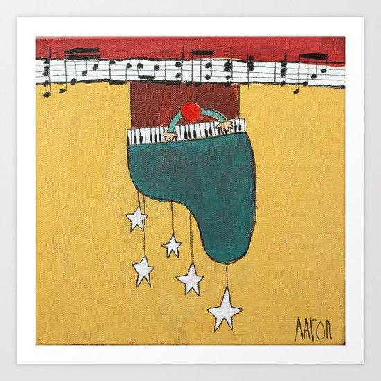 Piano Chime Art Print