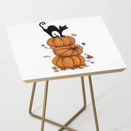Helloween cat Side Table