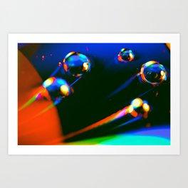 Through Time & Space Art Print