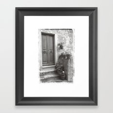 Rome Door 4 Framed Art Print