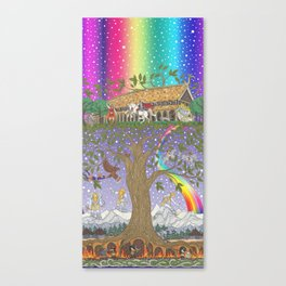 Yggdrasil, The World Tree Canvas Print