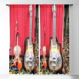 Resonator And Fiddle Blackout Curtain