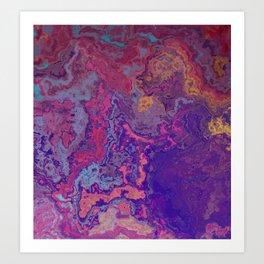 Rock Candy Art Print