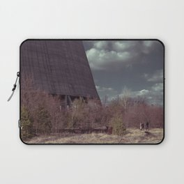 People by the cooling tower Laptop Sleeve