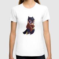 batgirl T-shirts featuring Batgirl by Luján Fernández