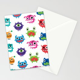 monstrous kids room Stationery Cards