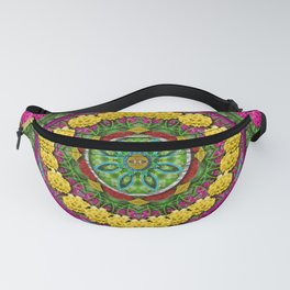 Bohemian chic in fantasy style Fanny Pack
