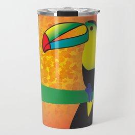 Toucan - White Travel Mug