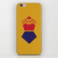 WonderWoman Alternative Minimalist Poster iPhone & iPod Skin