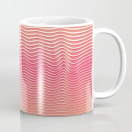 OpArt WaveLines 5 Coffee Mug