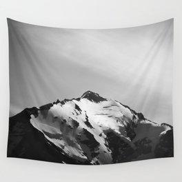 Shining Snowcap Wall Tapestry
