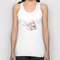 smaug Tank Tops featuring Baby Smaug - Paper version by Kinsei