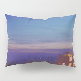 The Getty at Twilight Pillow Sham
