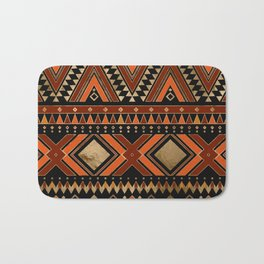 Aztec Ethnic Pattern Art N7 Bath Mat