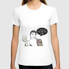 Wine honey T-shirt