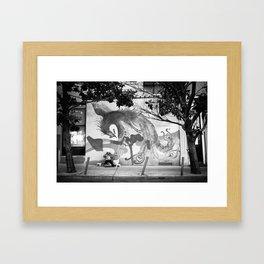 Chinatown Bird Art Serenity Framed Art Print