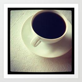 cup of jo(y) Art Print