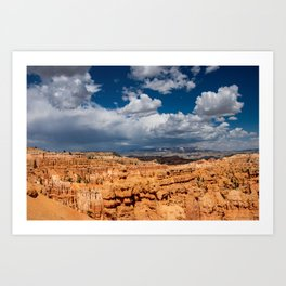 Bryce_Canyon National_Park, Utah - 4 Art Print