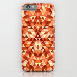 Hot triangle mandala iPhone Case