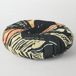FALLEN ANGEL LINOCUT Floor Pillow
