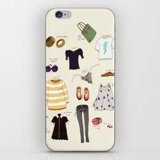 My (...not so new) spring wardrobe! iPhone & iPod Skin