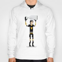 pittsburgh Hoodies featuring Pittsburgh Hockey by John Trivelli