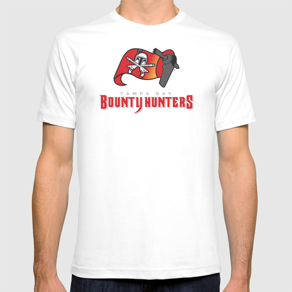 Tampa Bay Bounty Hunters - Nfl T-shirt by Klockwerksdesign TSR3118179