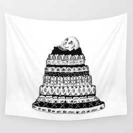 Death Cake Wall Tapestry