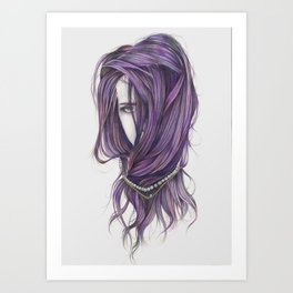 I Nearly Lost My Mind Art Print