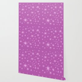 pink spots on pink background Wallpaper