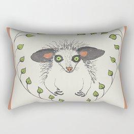 Aye-Aye Portrait Rectangular Pillow