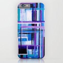 Blue Mayhem iPhone Case