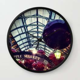 Christmas at Covent garden Wall Clock