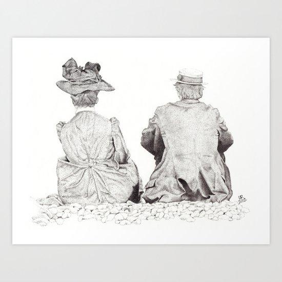 Companionship Art Print