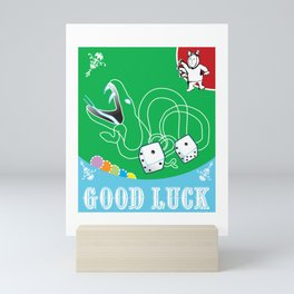 Good Luck Snake Eyes Mini Art Print