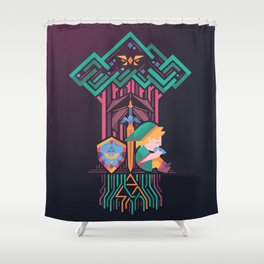 Guardian's link Shower Curtain