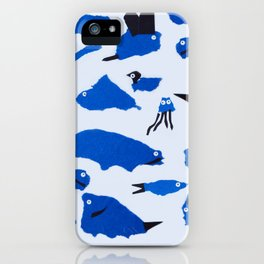 Whimsical Critters iPhone Case