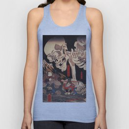Takiyasha the Witch and the Skeleton Spectre, by Utagawa Kuniyoshi Unisex Tank Top