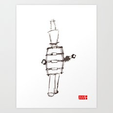 Marching to His Own Drum Art Print