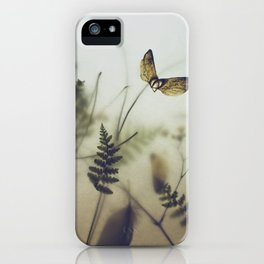 pine wings iPhone Case
