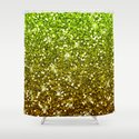 Shimmering Light Green Gold Glitters by tees2go