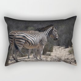Standing Stripes Rectangular Pillow