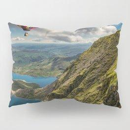 Snowdon Hot Air Balloon Pillow Sham