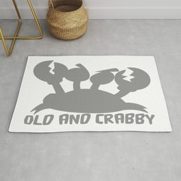 Old And Crabby Rug