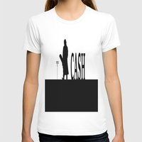 johnny cash T-shirts featuring CASH by shannon's art space