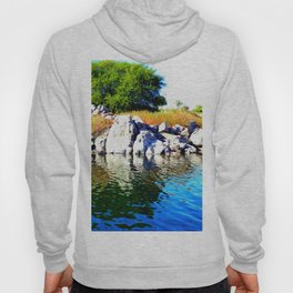 Beautiful Blue Nile River Hoody